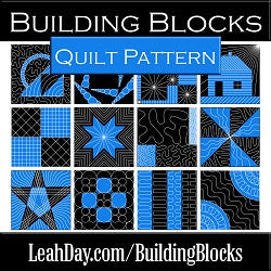 Building Blocks Quilt Pattern DOWNLOAD Version