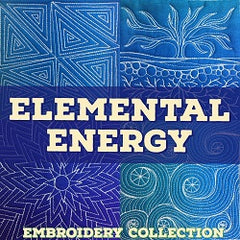 Elemental Energy Embroidery Design Collection