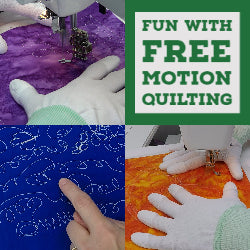 Fun with Free Motion Quilting 1 Hour Guild Presentation Video