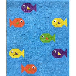 Happy Fish Quilt Pattern