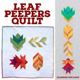 Leaf Peepers Quilt Pattern