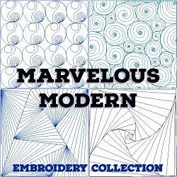 Marvelous Modern Embroidery Designs
