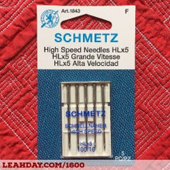 Schmetz HL x 5 High Speed Machine Needles