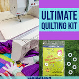 Ultimate Quilting Kit for Home Machine Quilting