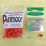Baste your quilt easily and quickly with Pinmoors