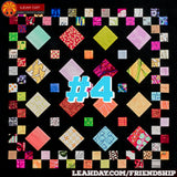 Friendship Sampler Quilt Along Block 4 Patchwork Mosaic
