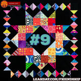 Friendship Sampler Quilt Along Block 9 Crown of Scraps