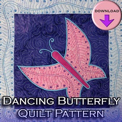 Dancing Butterfly Quilt Pattern DOWNLOAD Edition