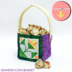 Easter Basket Mini Block Pattern
