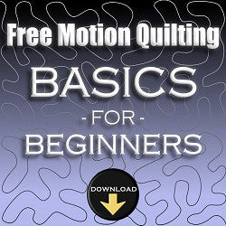 Free Motion Quilting Basics For Beginners Workshop