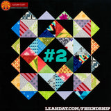 Friendship Sampler Quilt Along Block 2