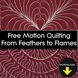 Free Motion Quilting from Feathers to Flames DOWNLOAD Edition