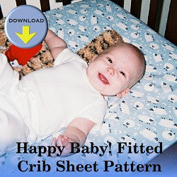Happy Baby Fitted Crib Sheet Pattern
