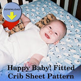 Happy Baby Fitted Crib Sheet Pattern Download