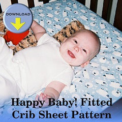 baby fitted crib sheets pattern