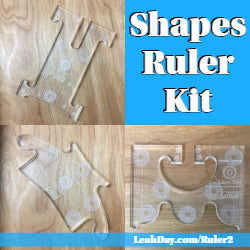 Quilting Shapes Ruler Kit