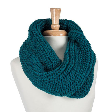 Teal Infinity Scarve