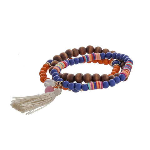 Beaded Bundle of Bracelets