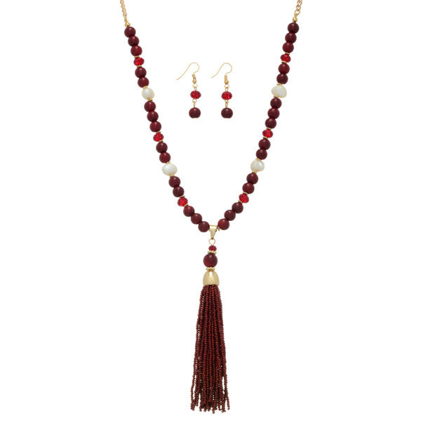 Tassle This Necklace