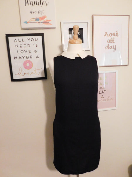 B&W Collar Dress