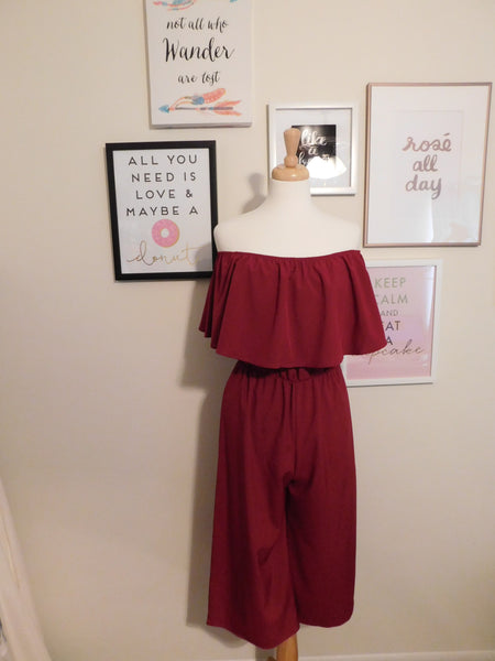 Ruby Cold Shoulder Jumpsuit