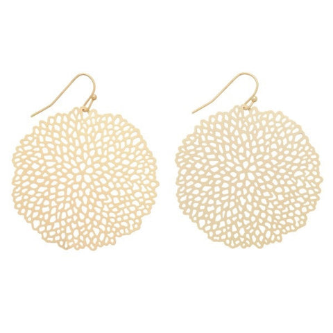 Honey Comb Earrings
