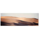 Tan and Blue Decor - Southwest Desert Art - Mojave Desert Art - Sand Wave - Abstract Sand Dunes -Panoramic Canvas - Large Canvas - 20 x 60 Canvas - Sylvia Coomes