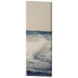 Ocean Blue 1 Fine Art Photography 20 x 60 x 1.25 inch Premium Canvas Gallery Wrap - Sylvia Coomes