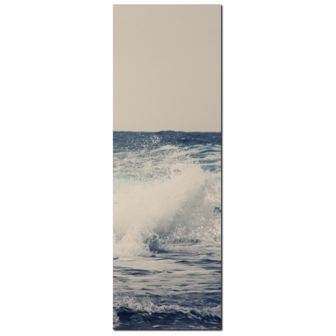 Ocean Blue 1 Fine Art Photography 20 x 60 x 1.25 inch Premium Canvas Gallery Wrap
