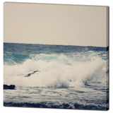 OCEAN BLUE 36 x 36 PREMIUM CANVAS GALLERY WRAP Square - Sylvia Coomes