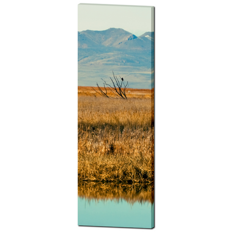 Landscape Reflection Fine Art Photography 20 x 60 x 1.25 inch Premium Canvas Gallery Wrap