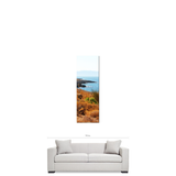 Coastline 1 Fine Art Photography 20 x 60 x 1.25 inch Premium Canvas Gallery Wrap - Sylvia Coomes