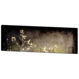 Gothic Canvas - Gothic Home Decor - Panoramic Canvas - Abstract Weeds - Abstract Canvas - Large Canvas - Black and Tan - 20 x 60 Canvas - Sylvia Coomes