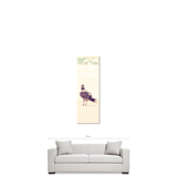 Bird on a Beach - Tall Canvas - Bird Decor - Seagull at the Beach - Seagull Canvas - Natural Tones - Large Canvas - 20 x 60 Canvas