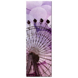Purple Ferris Wheel - Ferris Wheel Canvas - Purple Home Decor - Canvas - Large Canvas - Silhouette - Ferris Wheel Photo - 20 x 60 Canvas - Sylvia Coomes