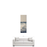 Ocean Blue 20 x 60 x 1.25 Portrait Panoramic View Premium Canvas Gallery Wrap - Sylvia Coomes