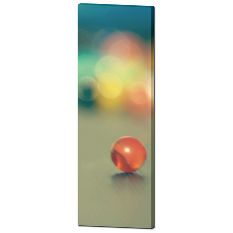Marble Fun Fine Art Photography 20 x 60 x 1.25 inch Premium Canvas Gallery Wrap