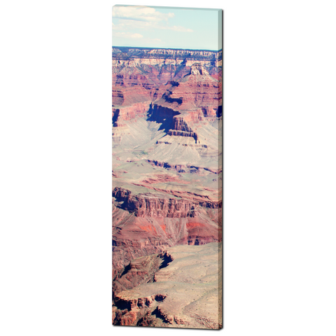 Grand Canyon Photo - Southwest Decor - Arizona Art - Desolate - Tall Canvas - Tranquil - Rustic Landscape - Large Canvas - 20 x 60 Canvas - Sylvia Coomes