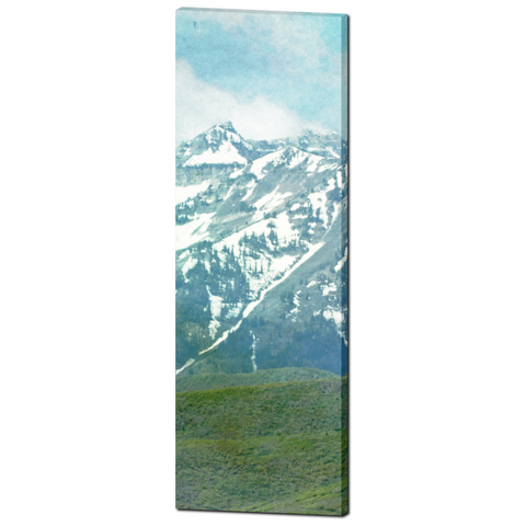 Pastel Mountains Fine Art Photography 20 x 60 x 1.25 inch Premium Canvas Gallery Wrap - Sylvia Coomes
