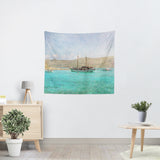 At Sea 1 Tapestry - Sylvia Coomes