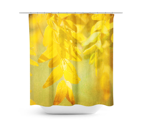 Autumn Leaves 2 Shower Curtain - Sylvia Coomes