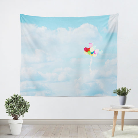 Balloons in the Sky Tapestry - Sylvia Coomes