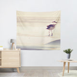 Bird at the Beach Tapestry - Sylvia Coomes