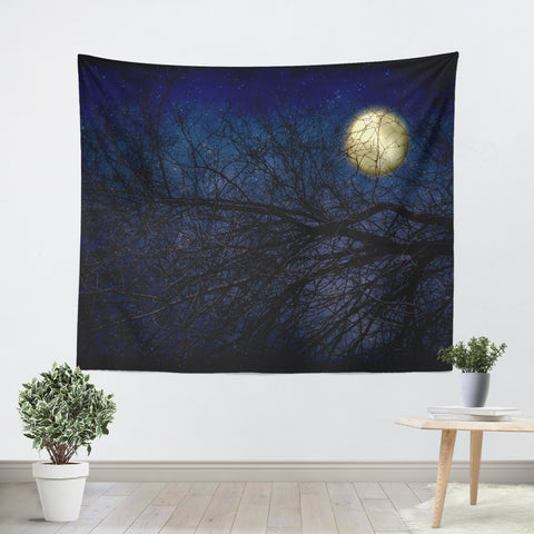 Blue Moon Tapestry - Sylvia Coomes