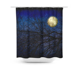 Blue Moon Shower Curtain - Sylvia Coomes