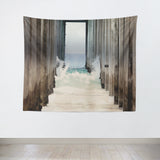 Boardwalk 2 Tapestry - Sylvia Coomes