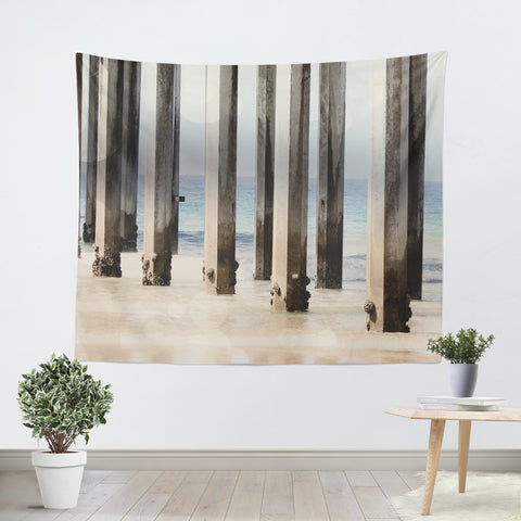 Boardwalk 4 Tapestry - Sylvia Coomes