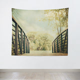 Bridge to Paradise Tapestry - Sylvia Coomes