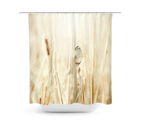 Bright Bird Shower Curtain - Sylvia Coomes