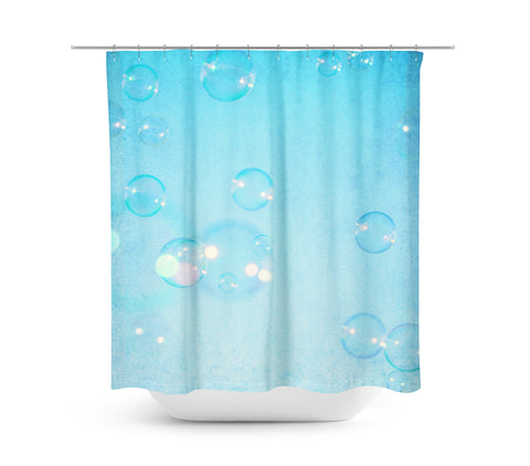 Bubbles Shower Curtain - Sylvia Coomes
